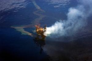 West Atlas Oil Spill 1