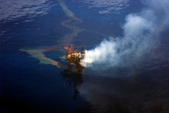 West Atlas Oil Spill 1