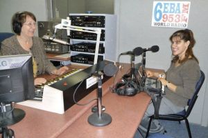 Zel on the right on air for Ethnic Ability Mondays 7.30pm